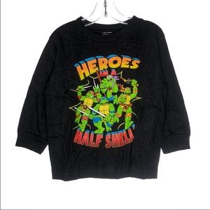 TMNT Classic Graphic Long Sleeves T-Shirt Size 4T